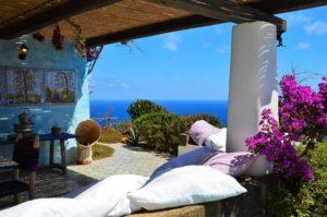 Ducchena con vista sul mare di Pantelleria