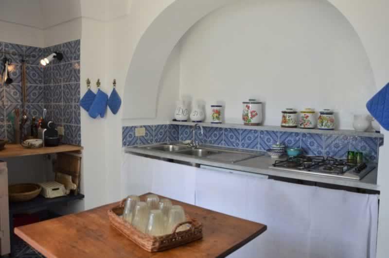 Cucina - Dammuso Ettore & Giulia Pantelleria