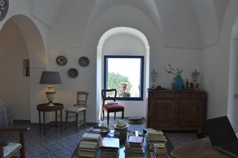 Sala a volte reali - Dammuso Ettore & Giulia Pantelleria