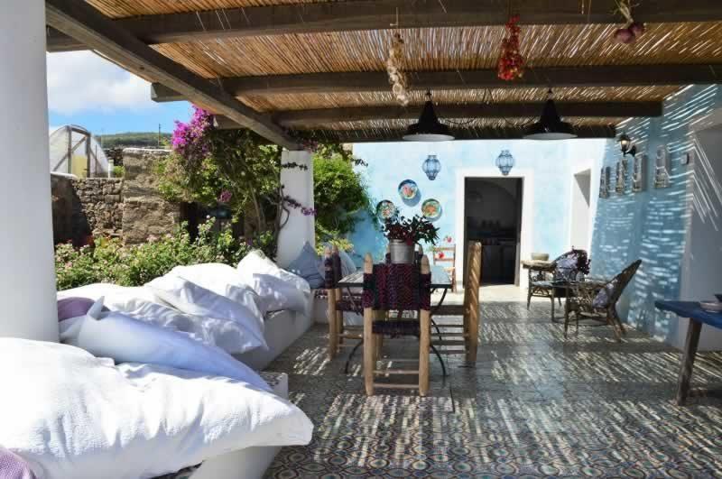 Terrazzo zona relax - Dammuso Ettore & Giulia Pantelleria